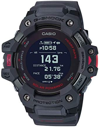 Casio Men s G Shock Move GPS Heart Rate Running Watch Quartz Solar Assisted Watch with Resin product image