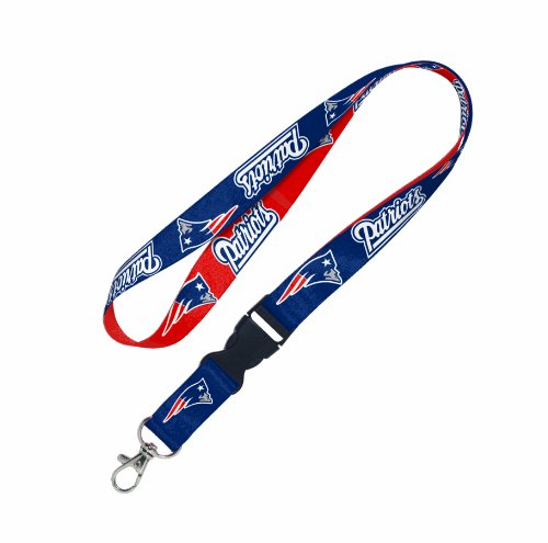 NFL New England Patriots Lanyard with detachable buckle
