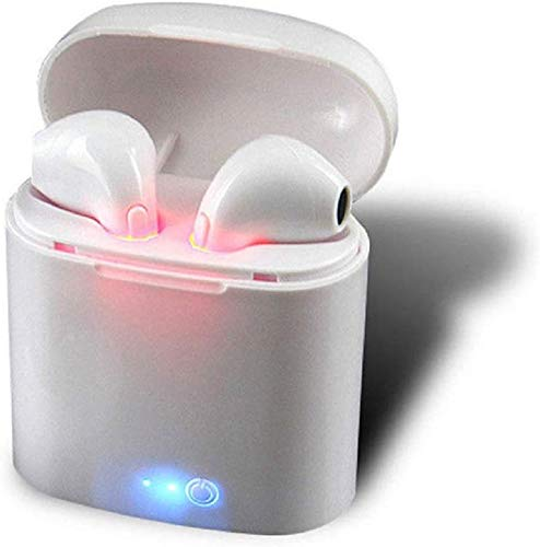 I7S TWS Wireless Stereo Earphones Headphone with Charging Box (White)