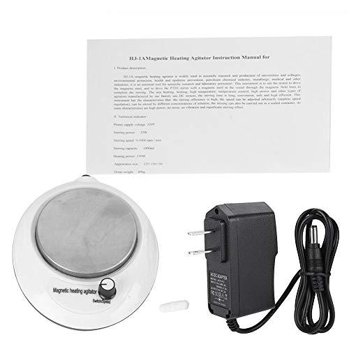 Digitaler Magnetrührer Mixer, 1 l, 0-3000 U/min, mit Geschwindigkeiten, beheizte Funktion für Zuhause, Küchenwerkzeug, 100-240 V (US:110 V)