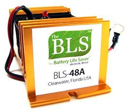 Battery Life Saver BLS-48BW 48 volt Battery System Desulfator Rejuvenator