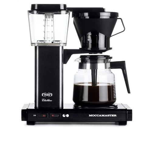 Moccamaster KBG 741 Schwarz Kaffeemaschine