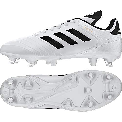 Adidas Copa 18.3 SG, Botas de fútbol para Hombre, Blanco (Ftwbla/Negbás/Ormetr 000), 39 1/3 EU