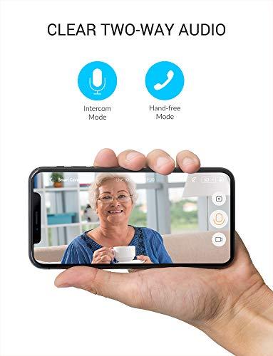 YI IOT Camera IP 1080p Telecamera di Sorveglianza Dome Camera Interno con Wifi,Rilevamento Suoni e Movimento,Audio Bidirezionale,Videocamera Ip Camera 1080p per Neonati con App per iOS/Android