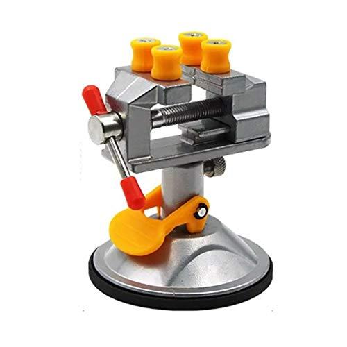 YUTRD ZCJUX Fuerte Ventosa Base Talla Mesa Mesa de Banco Vise Mini DIY Metal Herramientas para el hogar Ahorro de Espacio Prensa DE PULSURA DE PULSURA DE Tallo DE Tallo