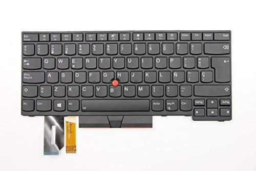 TellusRem Español Teclado retroiluminado Original para Lenovo Thinkpad T480s, T490, E490, L480, L490, L380, L390, L380 Yoga, L390 Yoga, E490, E480