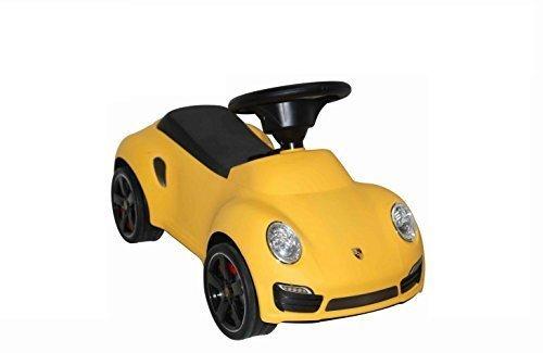 Leomark Véhicule pour Enfant - Porteur/ Trotteur - Activité D'éveil - Leomark BABY - POESCHE 911 TURBO S Foot to Floor …