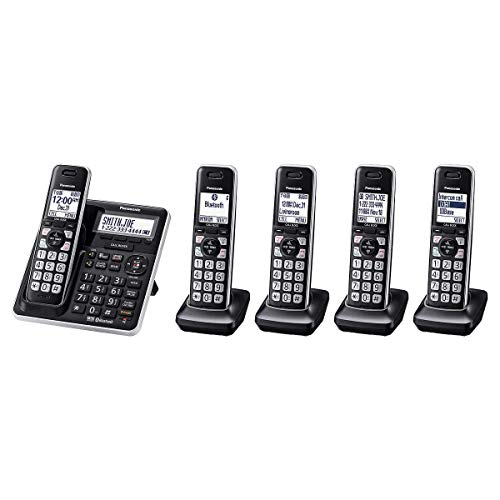 Panasonic KX-TG985SK DECT 6.0 Bluetooth 5 auriculares paquete (renovado)