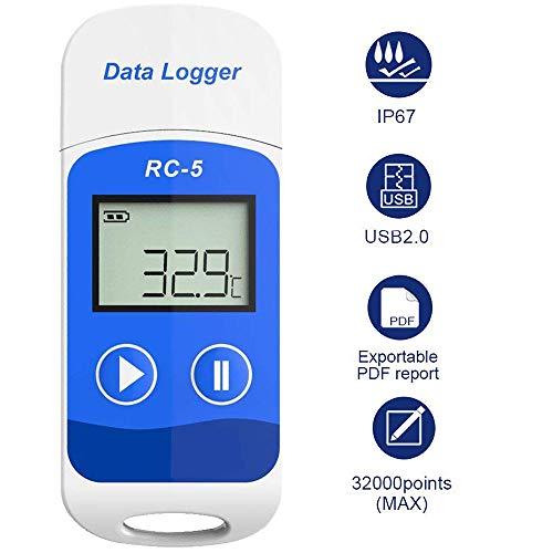 Registrador Datos Temperatura USB RC-5 32000 Puntos