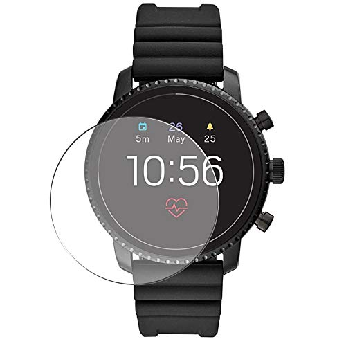 Vaxson 3 Stück Schutzfolie, kompatibel mit Fossil FTW4018 Gen 4 Explorist HR Smartwatch smart watch, Displayschutzfolie Bildschirmschutz Blasenfreies TPU Folie [nicht Panzerglas]