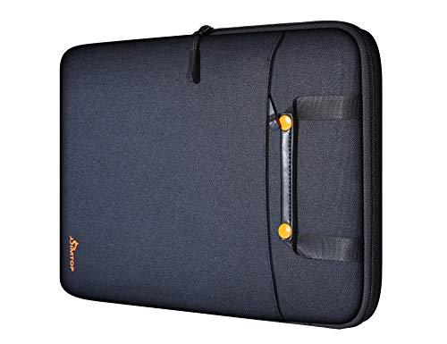 Capa para laptop SIMTOP 13-13,3 polegadas compatível com MacBook Air / MacBook Pro 13 polegadas, Microsoft Surface Go HP Dell Asus Acer Lenove Notebook computador, bolsa de transporte de poliéster à prova d'água com bolso
