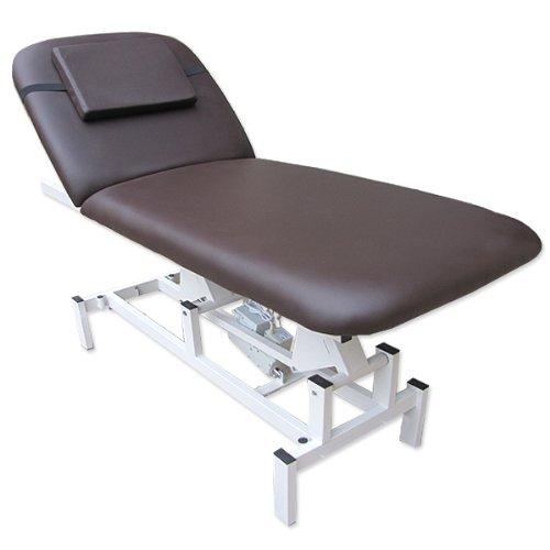 eyepower Elektrische Massageliege 185x72 Kosmetikliege Behandlungsliege Braun