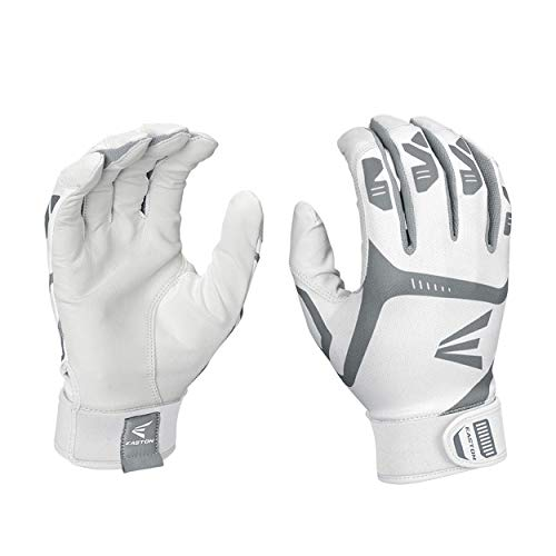 EASTON HYPERLITE Fastpitch Softball Batting Gloves | Pair | Girls | Medium | Mint | 2020 | Flexible & Lightweight Sublimated Design | Durable 2 Piece Palm | Comfort Neoprene Band Strap