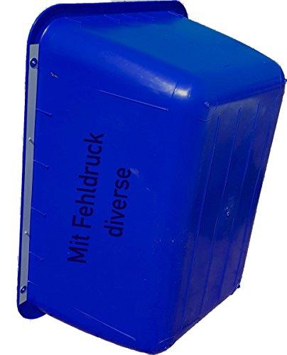 UvV®-FMK 2te Wahl Mörtelwannen ohne Kranösen (mit verzinkter Stahl Randverstärkung) mit Fehlfarben, Farbabweichungen 200 Liter (Blau)