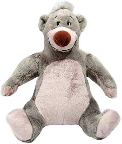 Fantasía Forest Prince Brown Bear Baloo Doll Peluche Toy Lindo Cumpleaños Regalo de cumpleaños 17cm