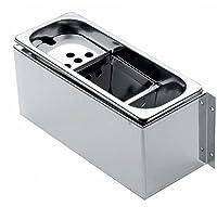 vaschetta contenitore lava porzionatore paletta gelato in acciaio vasca professionale per gelati