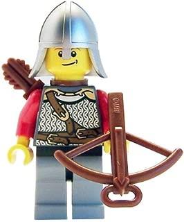 Lion Knight (Crossbow, Open Helmet) - LEGO Kingdoms Minifigure