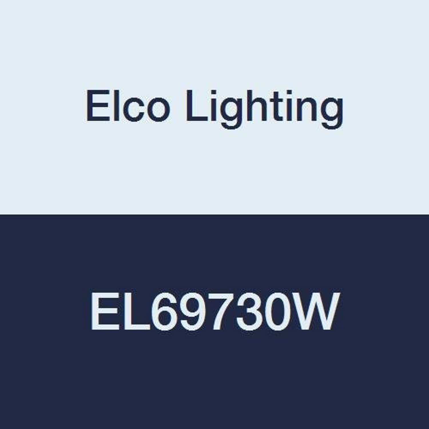 Elco Lighting EL69730W 6  Led Adjustable Pull-Down Insert