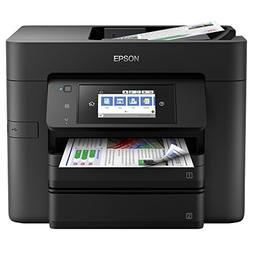 Epson Workforce Pro Wf-4740Dtwf 4-In-1 Business Inkjet-Multifunctioneel Apparaat, Zwart
