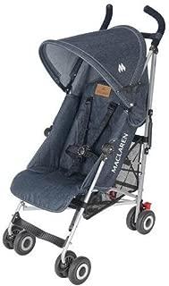 Maclaren Quest Stroller, Denim Indigo