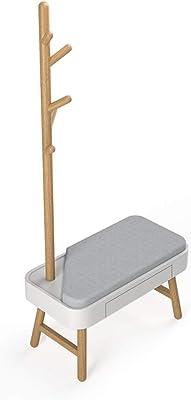 Amazon.com: Milliard Kids Coat Tree Rack Hanger Wooden White ...