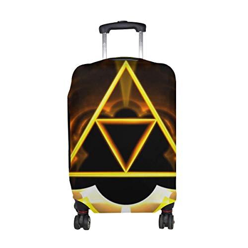 Protector de Equipaje de Viaje con Estampado de patrón Brillante con símbolo de...