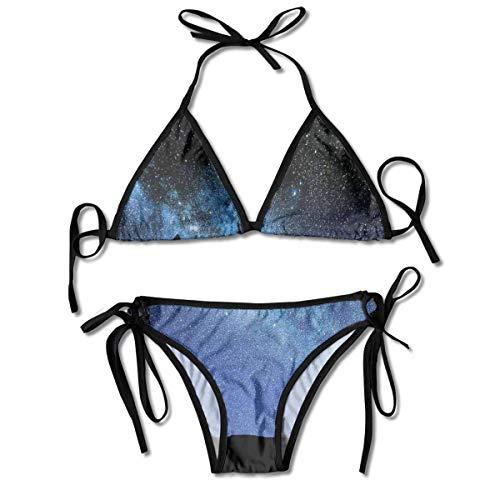 Badeanzüge Teleskop Tal Unter Sternenhimmel Milchstraße Atmosphäre Galaxie Astronomie Bikini Sets Bademode Badeanzug