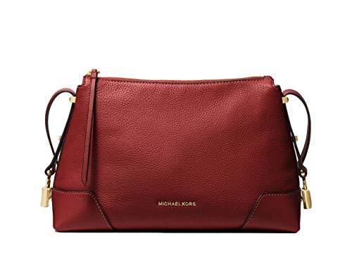"100% Pebbled Leather ? Gold-Tone Hardware Shoulder Strap: 19.5"" Interior Details: Back Zip Pocket, Front Slip Pocket Lining: 100% Polyester. Zip Fastening. Dust Bag Included 11.75""W X 8""H X 4""D"