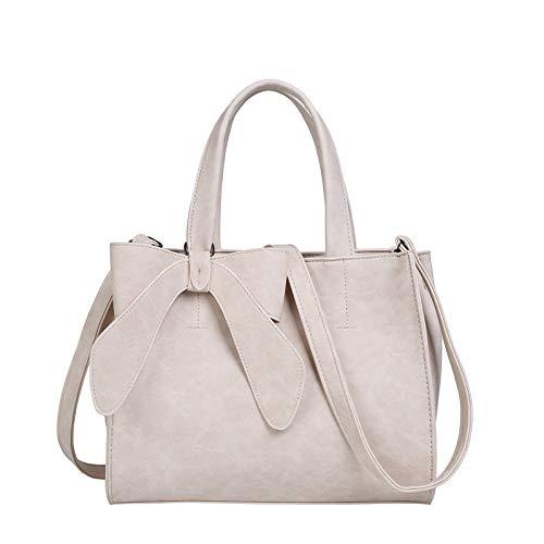 SONGXZ EuropäIschen Und Amerikanischen Bogen Frauen Handtasche Kleine Frische Gefrostete Messenger Handtasche Einfarbig UmhäNgetasche