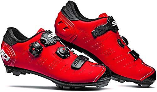 Sidi MTB Dragon 5 SRS Schuhe Herren matt red Schuhgröße EU 47 2021 Rad-Schuhe Radsport-Schuhe