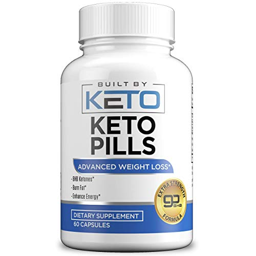Keto Pills - Weight Loss for Women and Men - Ketogenic Diet BHB Salts - Exogenous Ketones Supplement - Burn Fat for Fuel - Xtreme Lean Ketosis Fat Burner for Fast Weightloss - Best goBHB - 60 Capsules