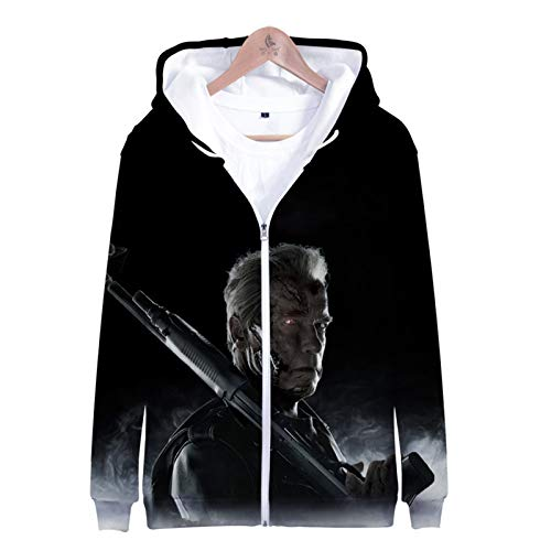 AQWD Dark Destiny-Unisex 3D-Hoodies, Lustige Cartoon-Pullover Für Männer, Farbenfrohe Langarm Hoodies, Lässige Kinder-Sweatshirts, Jacken Und Tops-XXX-Large