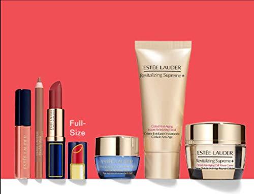 Estee Lauder 2020 7pcs Sculpted Lips & Firmer Skin Makeup Skincare Gift Set