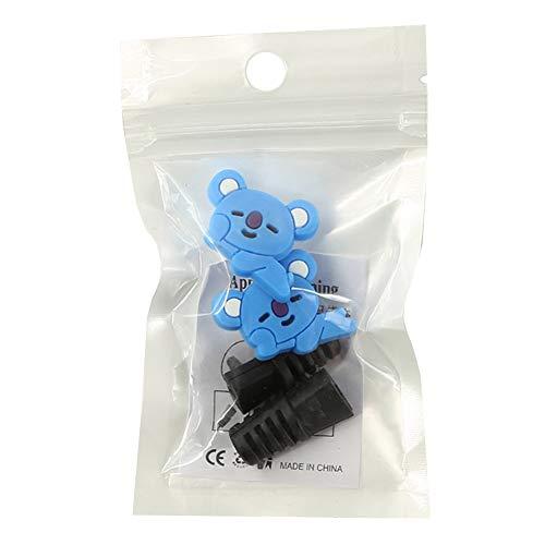 Yovvin BTS USB-Kabel Schutzhülle | KPOP Bangtan Jungen Jungkook, Jimin, V, Suga, Jin, J-Hope, Rap Monster Apple USB-Kabel Protective Case für The Army(KOYA)