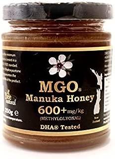 MGO Manuka Honey 600+mg/kg Methylglyoxal - 250g