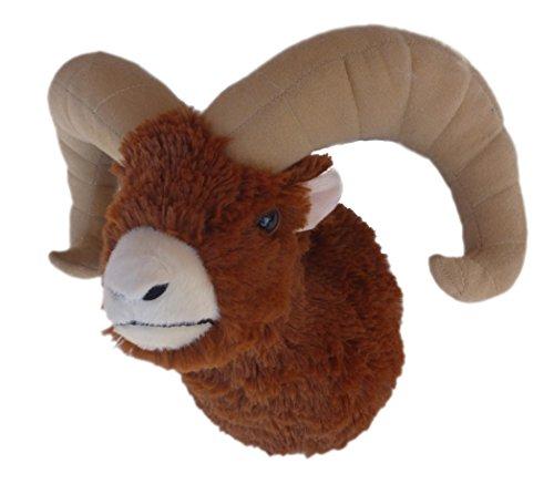 Adore 12' Ram The Bighorn Sheep Plush Stuffed Animal Walltoy Wall Mount