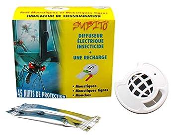 Subito Diffuseur Prise électrique Anti moustiques avec Recharge
