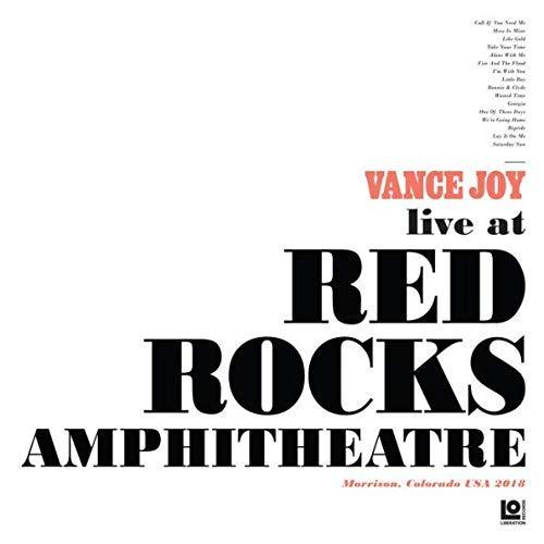 Vance Joy - Live At Red Rocks Amphitheatre Limited Edition Collectible Double Rose Colored vinyl LP Connecticut