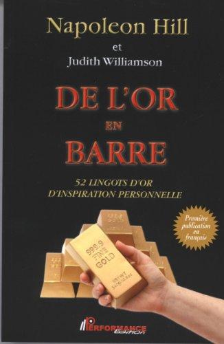 De l'or en barre - 52 lingots d'or d'inspiration personnelle