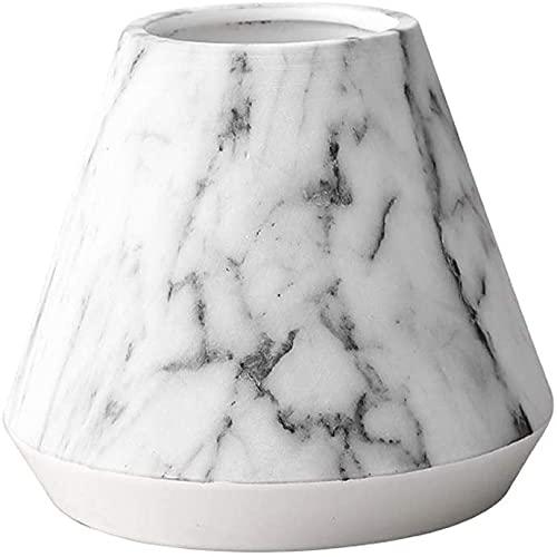 TREEECFCST Macetas De Ceramica Macetero Maceta para Adornos de Interior Jarrón de cerámica de mármol Flores secas Arreglo Floral hidropónico Sala de Estar Comedor Decoración 915(Size:Small)