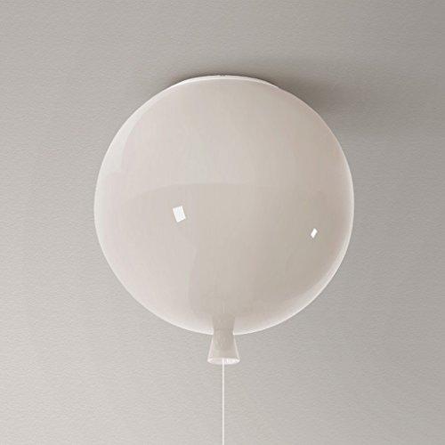 GYD Deckenlampe Schlafzimmer Einfache Moderne Persönlichkeit Balkon Gang Kreative Kinderzimmer Lichter Farbe Luftballons (Farbe : Weiß, größe : Große)