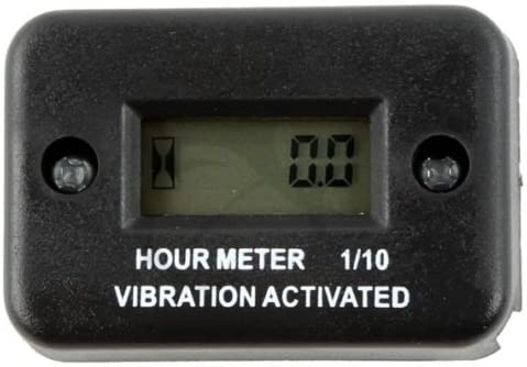 Motorcycle Tach Vibration Activated Manufacturer direct delivery 70% OFF Outlet Hour Meter Snowmobil For ATV