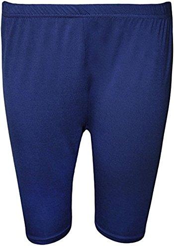 High Street Fashion ® Womens Plus Size Elastische knie dames stretch fietsbroek - maten 16-26