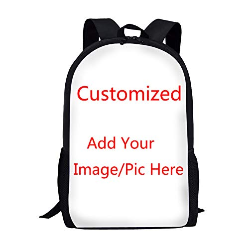Coloranimal Custom Your Own Image or Picture Children Girls Boys School Backpacks Big Capacity Personality Book Bags