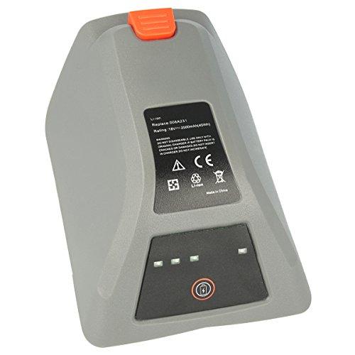 Akku-King Akku kompatibel mit Gardena Comfort Wand-Schlauchbox 35 roll-up automatic Li, 8025-20 - ersetzt 008A231 - Li-Ion 2500mAh