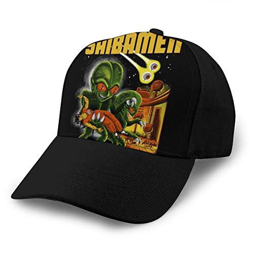 HONGYANW Gorra de béisbol Dragon Ball Z Invasion of the Saibamen Dad Hat ajustable transpirable para hombres y mujeres Snapback Trucker Cap negro