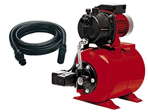 Einhell Hauswasserwerk GC-WW 6538 (650 W, 3,6 bar Druck, 3.800 l/h Förderleistung, integrierter Druckschalter, Manometer, 20l Behälter, inkl. 7 m Saugschlauch)