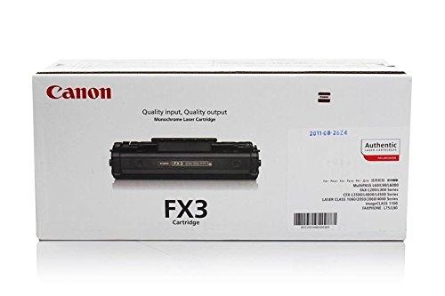 Canon Original 1557A003 / CRGFX3, für Fax L 220 Premium Drucker-Kartusche, Schwarz, 2700 Seiten