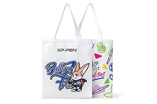 XP-PEN Einkaufstasche Tragetasche Unisex Stofftasche Schultertasche Baumwolltasche 33x40cm für shopper,büro,alltag,Freizeit