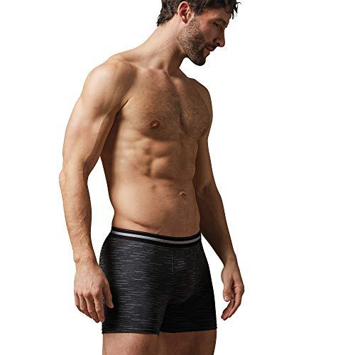 CiTO Herren-Pants grau Geringelt Größe 8